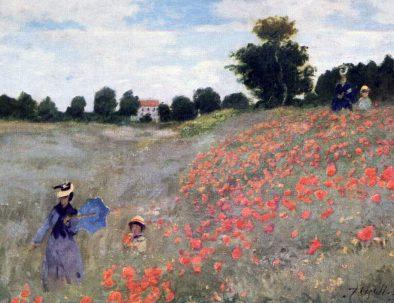Orsay-Monet-Coquelicots